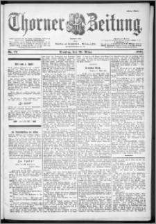Thorner Zeitung 1901, Nr. 72 Erstes Blatt