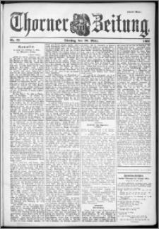 Thorner Zeitung 1901, Nr. 72 Zweites Blatt