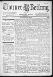 Thorner Zeitung 1901, Nr. 73 Erstes Blatt