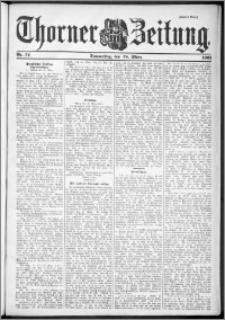 Thorner Zeitung 1901, Nr. 74 Zweites Blatt