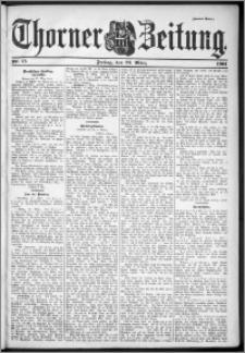 Thorner Zeitung 1901, Nr. 75 Zweites Blatt