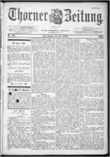 Thorner Zeitung 1901, Nr. 76 Erstes Blatt
