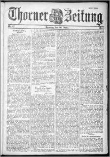 Thorner Zeitung 1901, Nr. 77 Zweites Blatt