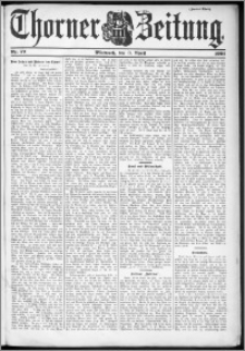 Thorner Zeitung 1901, Nr. 79 Zweites Blatt