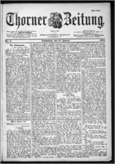 Thorner Zeitung 1901, Nr. 8 Erstes Blatt