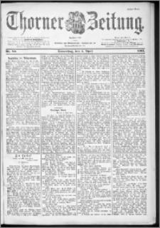 Thorner Zeitung 1901, Nr. 80 Erstes Blatt