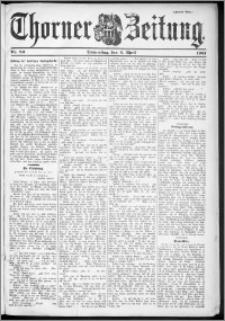Thorner Zeitung 1901, Nr. 80 Zweites Blatt