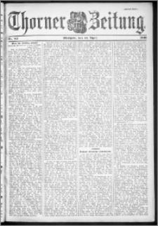 Thorner Zeitung 1901, Nr. 83 Zweites Blatt