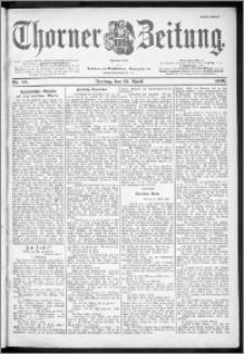 Thorner Zeitung 1901, Nr. 85 Erstes Blatt
