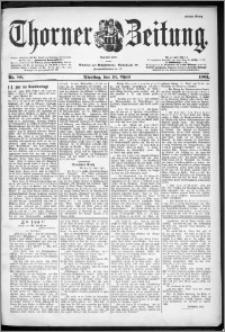 Thorner Zeitung 1901, Nr. 88 Erstes Blatt