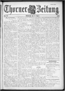 Thorner Zeitung 1901, Nr. 89 Zweites Blatt