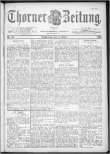 Thorner Zeitung 1901, Nr. 90 Erstes Blatt