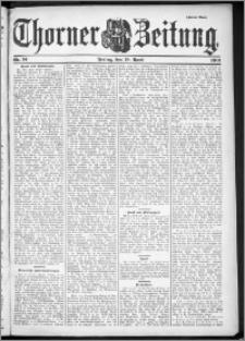 Thorner Zeitung 1901, Nr. 91 Zweites Blatt