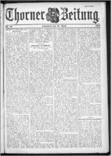 Thorner Zeitung 1901, Nr. 92 Zweites Blatt