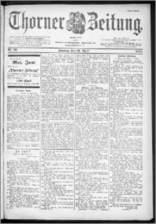 Thorner Zeitung 1901, Nr. 93 Erstes Blatt