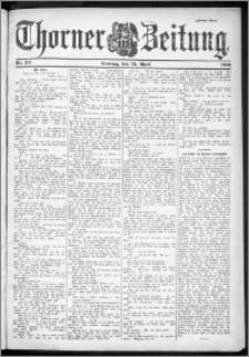 Thorner Zeitung 1901, Nr. 93 Zweites Blatt