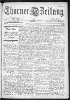 Thorner Zeitung 1901, Nr. 94 Erstes Blatt + Extra Beilage