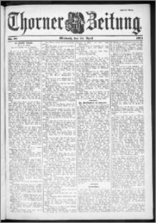 Thorner Zeitung 1901, Nr. 95 Zweites Blatt