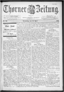 Thorner Zeitung 1901, Nr. 96 Erstes Blatt