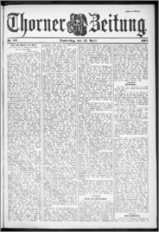 Thorner Zeitung 1901, Nr. 96 Zweites Blatt