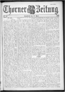 Thorner Zeitung 1901, Nr. 98 Zweites Blatt