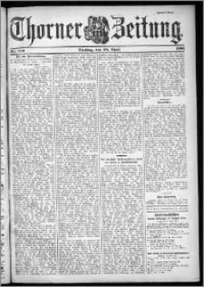 Thorner Zeitung 1901, Nr. 100 Zweites Blatt
