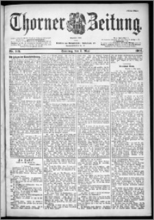 Thorner Zeitung 1901, Nr. 105 Erstes Blatt