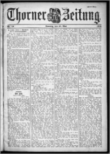 Thorner Zeitung 1901, Nr. 111 Zweites Blatt