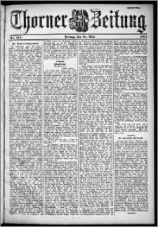 Thorner Zeitung 1901, Nr. 120 Zweites Blatt