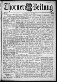 Thorner Zeitung 1901, Nr. 121 Zweites Blatt
