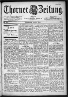 Thorner Zeitung 1901, Nr. 124 Erstes Blatt