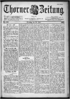 Thorner Zeitung 1901, Nr. 146 Erstes Blatt