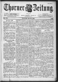 Thorner Zeitung 1901, Nr. 150 Erstes Blatt