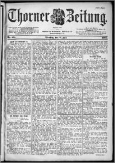 Thorner Zeitung 1901, Nr. 158 Erstes Blatt