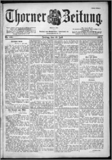 Thorner Zeitung 1901, Nr. 161 Erstes Blatt