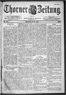 Thorner Zeitung 1901, Nr. 165 Erstes Blatt