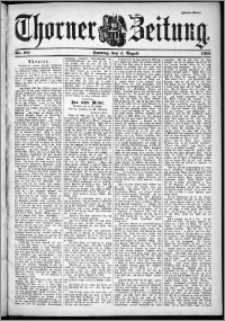Thorner Zeitung 1901, Nr. 181 Zweites Blatt