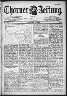Thorner Zeitung 1901, Nr. 182 Erstes Blatt