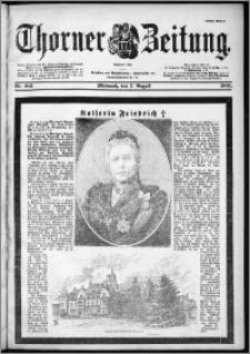 Thorner Zeitung 1901, Nr. 183 Erstes Blatt