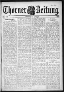 Thorner Zeitung 1901, Nr. 183 Zweites Blatt