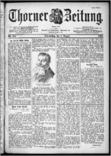 Thorner Zeitung 1901, Nr. 184 Erstes Blatt