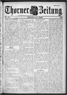 Thorner Zeitung 1901, Nr. 184 Zweites Blatt