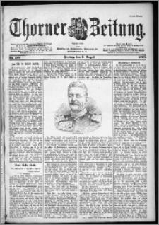 Thorner Zeitung 1901, Nr. 185 Erstes Blatt