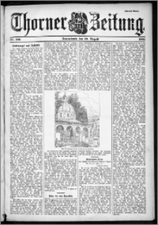 Thorner Zeitung 1901, Nr. 186 Zweites Blatt