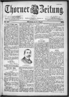 Thorner Zeitung 1901, Nr. 189 Erstes Blatt