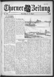 Thorner Zeitung 1901, Nr. 190 Zweites Blatt