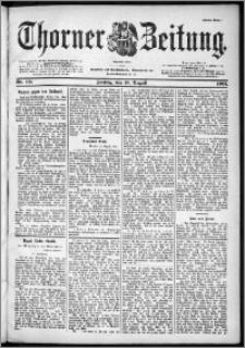 Thorner Zeitung 1901, Nr. 191 Erstes Blatt