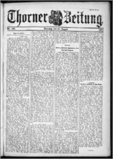 Thorner Zeitung 1901, Nr. 193 Zweites Blatt