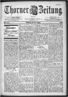 Thorner Zeitung 1901, Nr. 194 Erstes Blatt