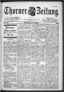 Thorner Zeitung 1901, Nr. 195 Erstes Blatt